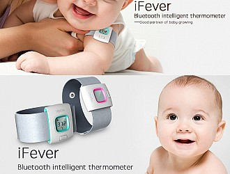 iFever-font-b-Bluetooth-b-font-Children-font-b-Thermometer-b-font-24-Hrs-Monitoring-Alert